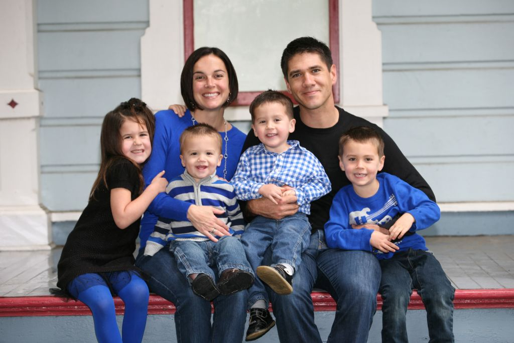 Aaron Anaya, D.C. and family